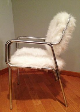 Custom Made Faux Fur Chair