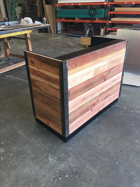 Custom Made #37 Custom Red Wood Economy Style Desk