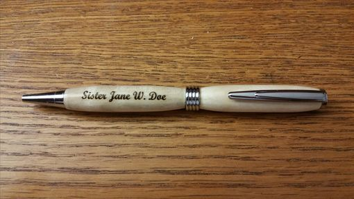 Custom Made Custom Made And Engraved Rollerball Pen