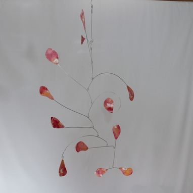 Custom Made Cool Art Mobile Abstract - Hand Painted Hanging Mobile Sculpture