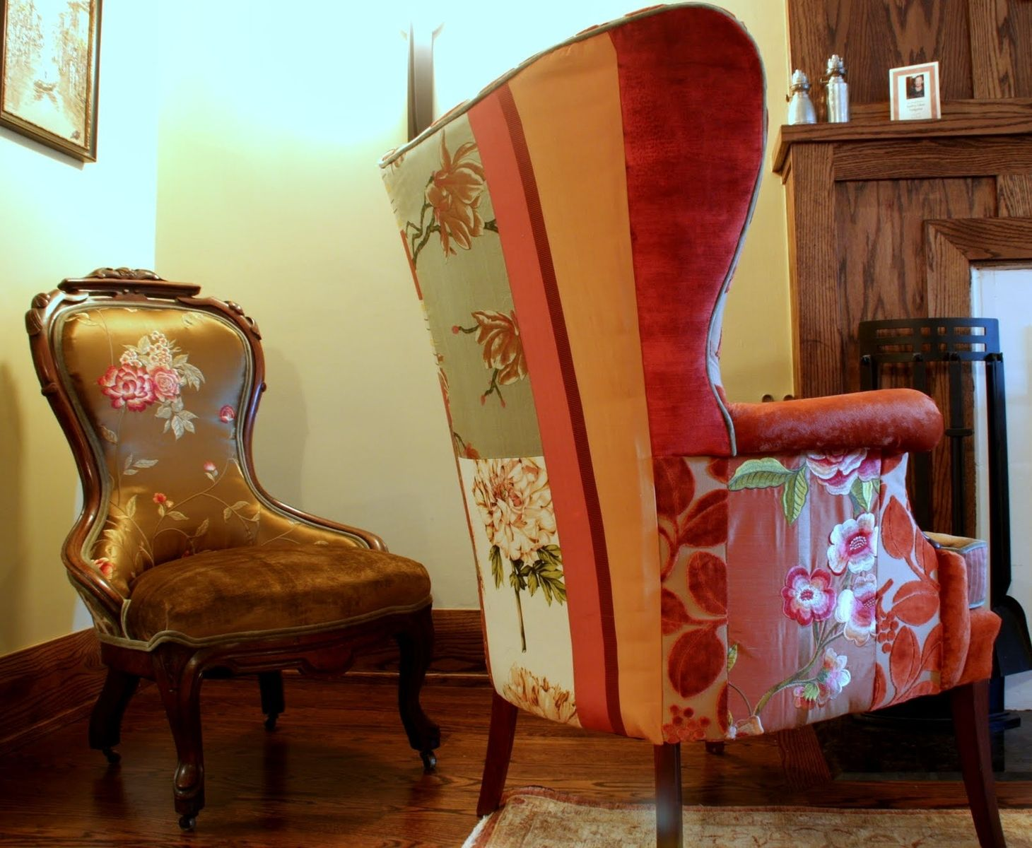 Custom Made Upholstered Antique Chairs - Custom Upholstered Antique Chairs By Jane Hall The Voice Of Style
