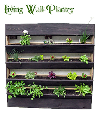 Custom Made Living Wall Planter