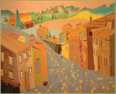 Custom Made Tuscany Cityscape