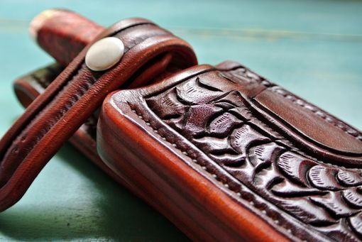 Custom Made Leather Knife Sheath - Albany Addition