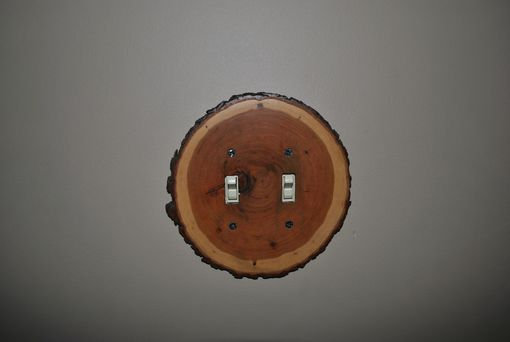 Custom Made Wood Switchplates