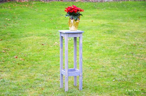 Custom Made Everyday Rustic Plant Stand