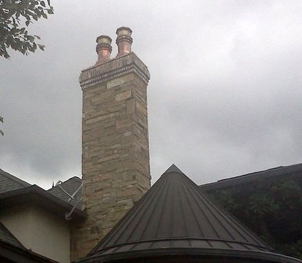 Custom Made Copper Chimney Caps