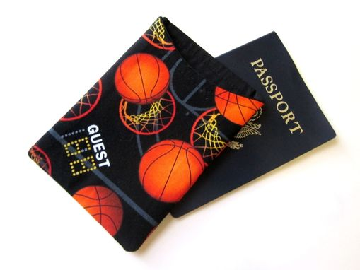 Custom Made Handmade Passport Cover Basketball Hoop Net