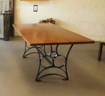 Sapele Solid Wood Dining Table
