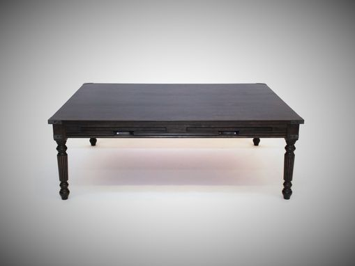 Custom Made La Familia Traditional Coffee Table