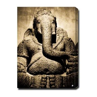 Custom Made Ancient Ganesh On Canvas