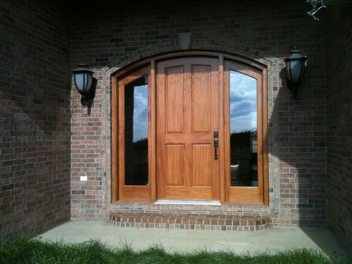 Custom Made Mahogany Front Door