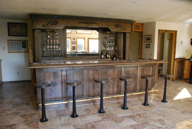 Hand Made Vintage Bar And Backbar by Daniel Cabinets  : 569035682 from www.custommade.com size 800 x 536 jpeg 68kB