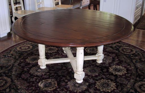 Custom Made Round Gathering Table