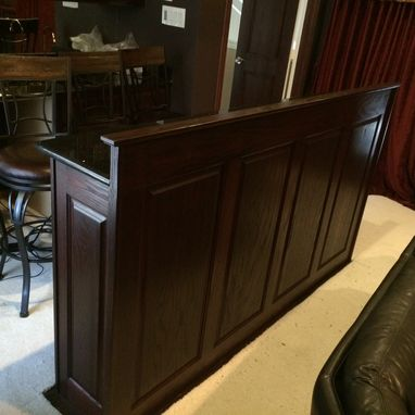 Custom Made Media Room Bar