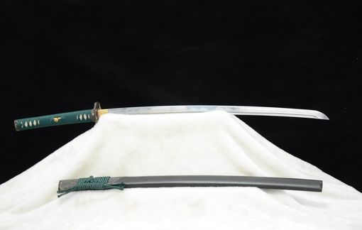 Custom Made Japanese Katana Samurai Sword Hand Forged Superior Cutting Damascus Steel Blade