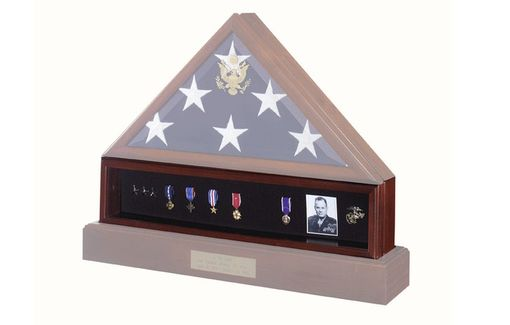 Custom Made Medal Display Case  Pedestal Medal Holder