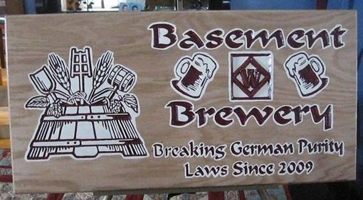Custom Made Sign For Microbrewers