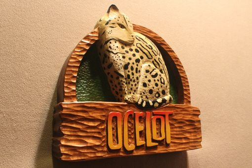 Custom Made Zoo Signs | Animal Signs | Wildlife Signs | Custom Carved Wood Sign By Lazy River Studio