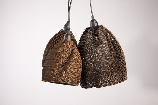 Custom Made Cardboard Lamps