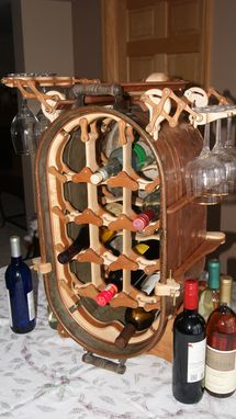 Custom Made Wine Rack, World's Most Unique!