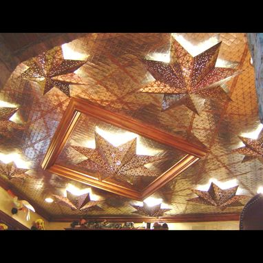 Custom Made Ceiling Of Stars