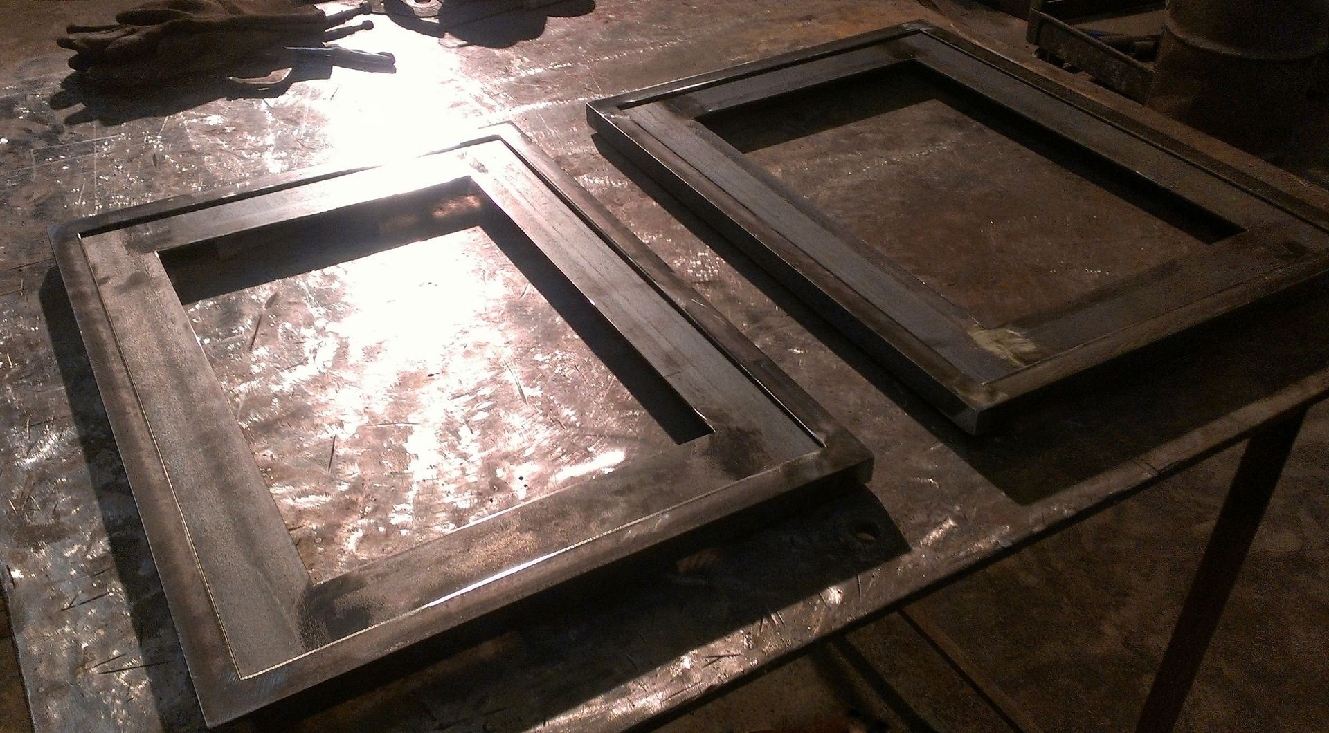 custom made custom steel picture frames