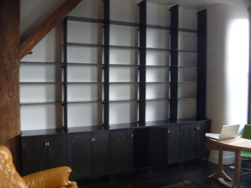 Custom Made Hot Roll Steel Wall Unit