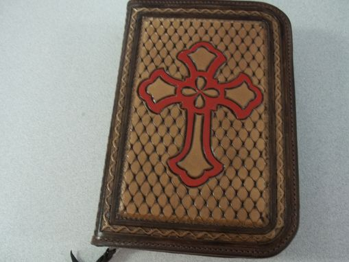 "Custom Made #292 ""Colonial Ginger"" Bible Cover"