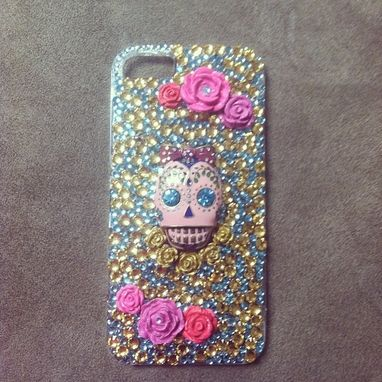 Custom Made Betsey Johnson Inspired Custom 3d Bling Cellphone Case