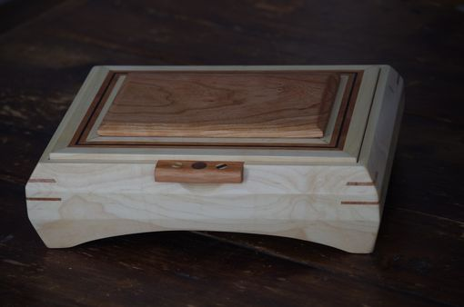 Custom Made Maple And Cherry Box With Banding