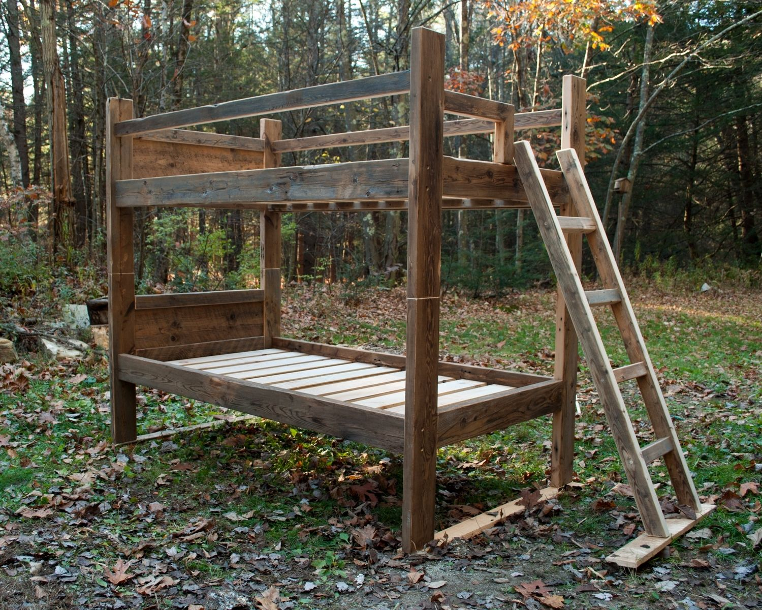 Picture of: Hand Crafted Reclaimed Bunk Bed By Greene Pepper Woodworking Custommade Com