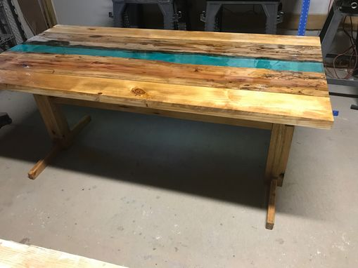 Custom Made Driftwood River Table