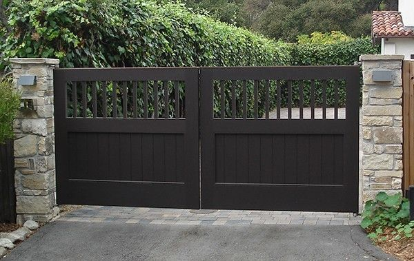 Handmade Driveway Gate By Adney Amp Sons Fine Woodworking