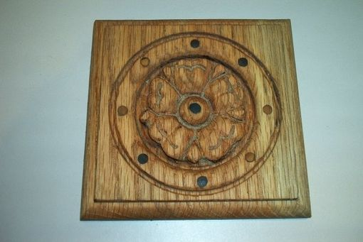 Custom Made Woodworking Carving Of Plaques And Rosets To Use For Enhancements