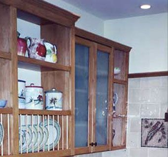 Custom Made Maple Kitchen Cabinetry