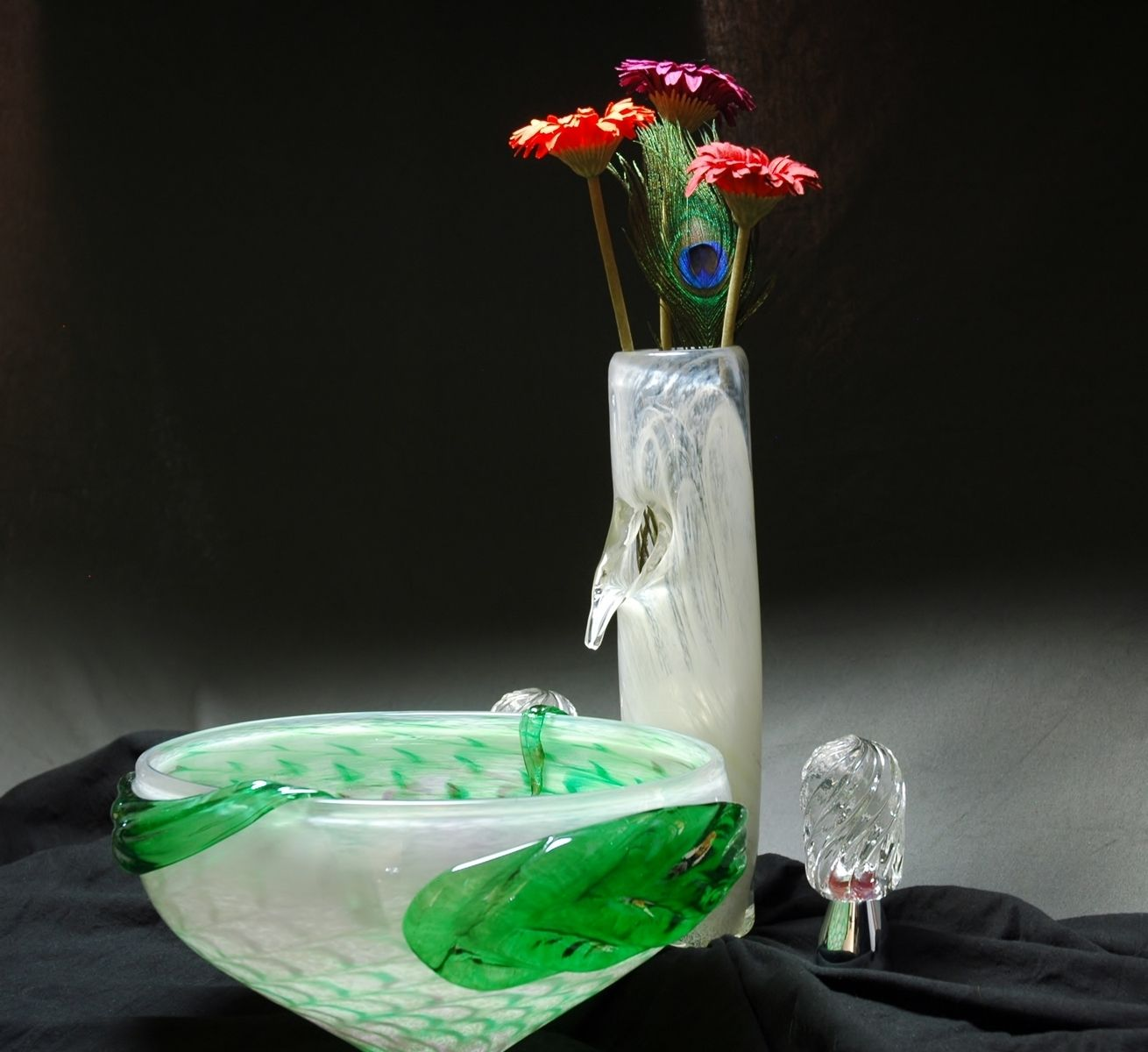 Hand Crafted Glass Faucet By Zero Gravity Creations