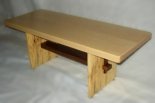 Custom Made Ribbon Simplicity Coffee Table