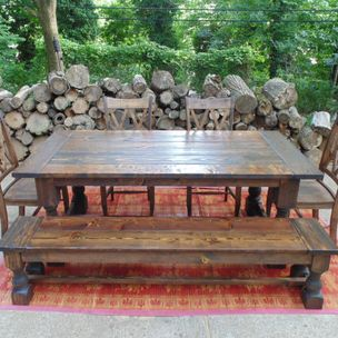 Talbot Reclaimed Wood Dining Table By