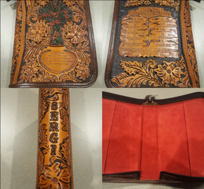 Custom Made Leather Bible Covers