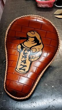Custom Made Motorcycle Seat