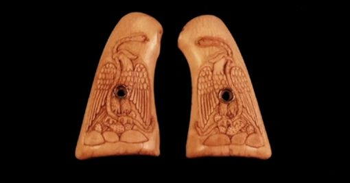 Custom Made Antique Ivory With Mexican Eagle