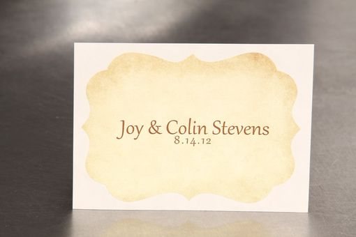 Custom Made Personalized Wedding Stickers Die Cut - Vintage Key Sticker - Guest Bag Labels