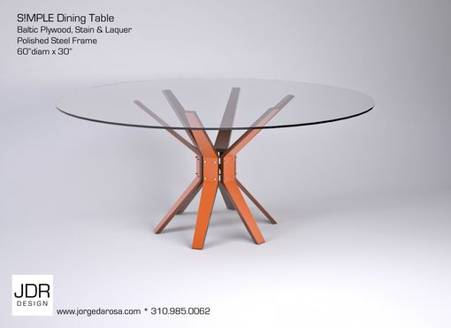 Custom Made S!Mple Dining Table