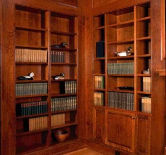 Custom Made Large Cherry Library