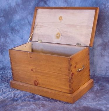 Custom Made Pine Dove-Tailed Chest