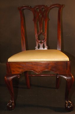 Custom Made Chippendale Chair