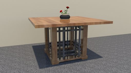 Custom Made Tall Bistro Table/ Craftsman