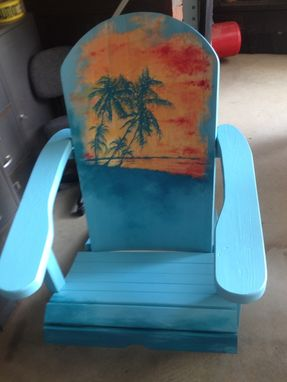 Custom Made Custom Hand Painted Adirondack Chairs