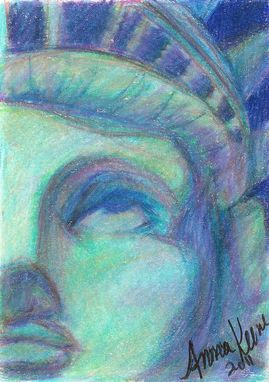 "Custom Made ""Tribute To 9/11"" Fine Art Drawing"